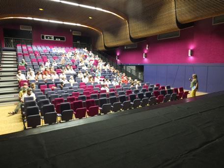 """La  projection du """"Mécano de la General""""  clôt la première saison du Ciné-club du Bassin"""