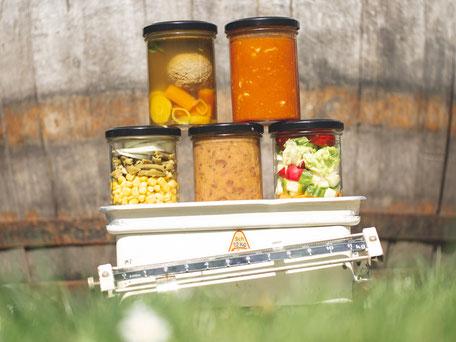 Unverschwendet und hausgemacht Convenience Küche