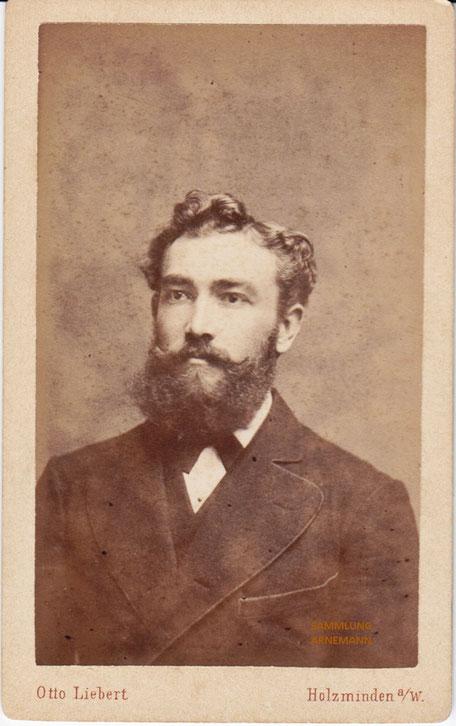 Photographie aus dem Atelier Otto Liebert, Holzminden um 1900
