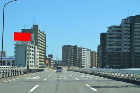 リバーサイド川崎・遠景