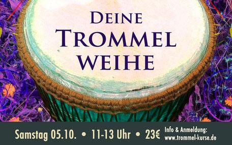 Trommelweihe 2019 • ConceptionDrums Trommelworkshop • Trommelschule Yngo Gutmann, Leipzig