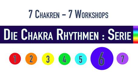 Die Chakra Rhythmen : Serie • 6. Chakra • 14.02.2019 • Trommelschule Yngo Gutmann, Leipzig