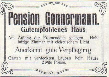 Anzeige 1914 - Archiv W.Malek