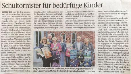 Rheinische Post, 2. Juli 2018
