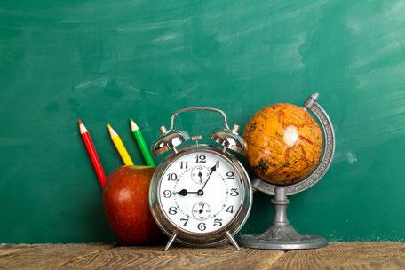 Wenn du dir genügend Zeit nimmst, klappt das mit dem Lernen viel besser!