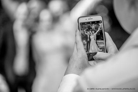 Fotograf Friedrichsdorf - Hochzeitsfoto Bild in Bild