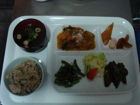 野菜定食(日替わり)  650円