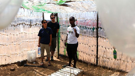 Recycle project lokale bevolking Zuid-Afrika