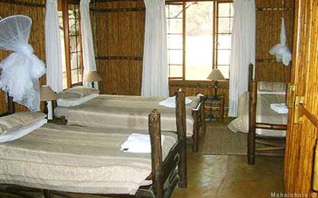 Slaapkamer vrijwilligers accommodatie
