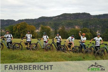 Fahrbericht mit Focus e-MTBs in die Sächsische Schweiz