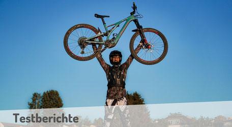 Aktuelle Tests und Bikevorstellungen von e-Mountainbikes 2020.