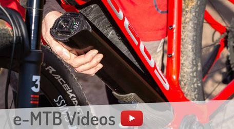 Videos zu e-MTB Tests und Bikevorstellungen von e-mtb.de
