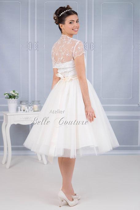 Brautkleid im 50er Jahre Vintage Stil - vintagebrauts Webseite!