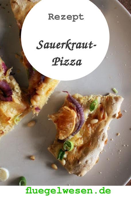 Rezept: Sauerkraut-Pizza mit Bierteig - fluegelwesen. de