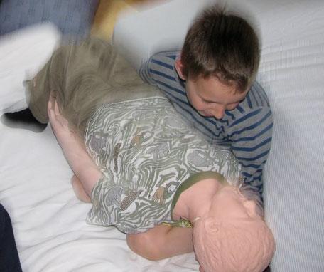 ALS Kind mit Kind
