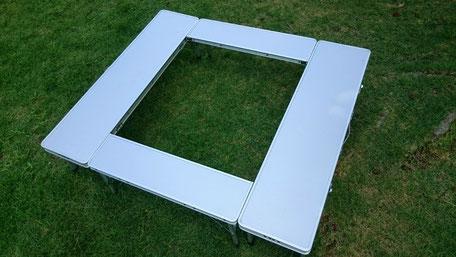 キャンパーズコレクション ファイアープレイステーブル