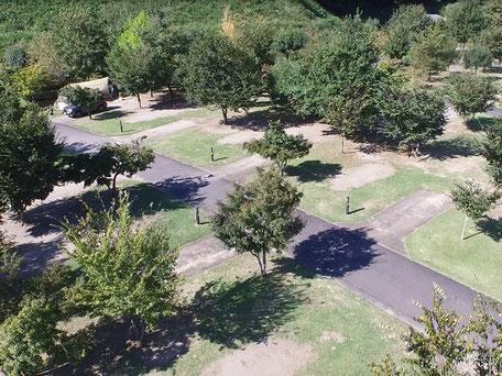 大子広域公園オートキャンプ場芝サイト
