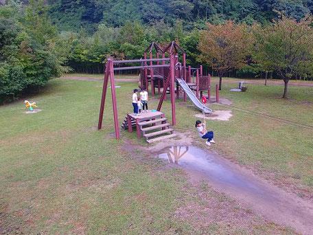 青川峡キャンピングパーク公園