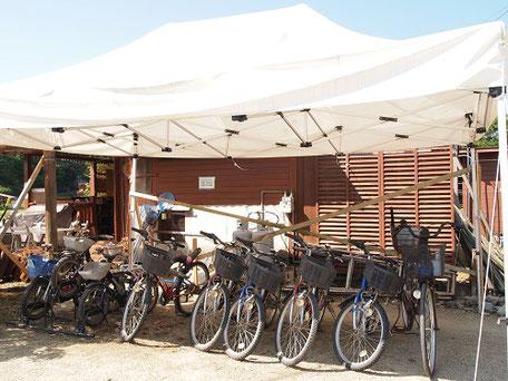 OKオートキャンプ場レンタルサイクル