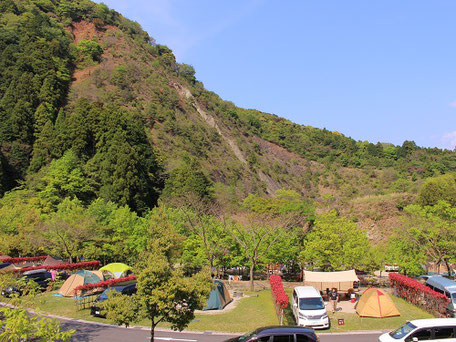 青川峡キャンピングパーク水辺サイト