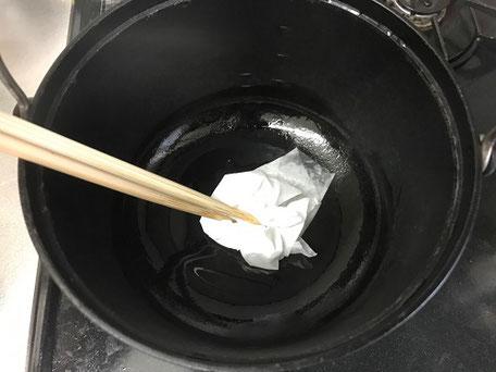 ダッチオーブンメンテナンス