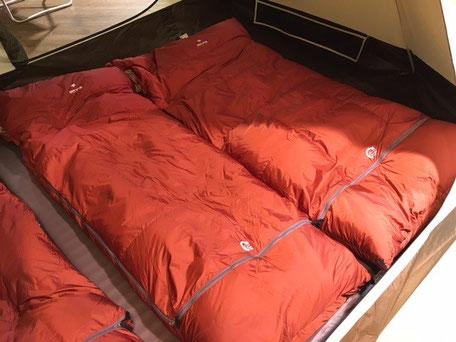スノーピーク寝袋