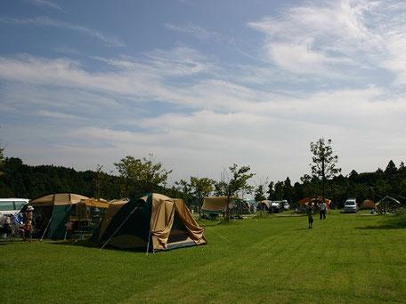 青川峡キャンピングパークオープンサイト