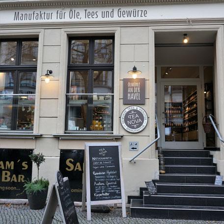 Hochwertige Öle, Tees und Gewürze in Kreuzberg/ Berlin/. Gutes Essen beginnt mit guten Produkten