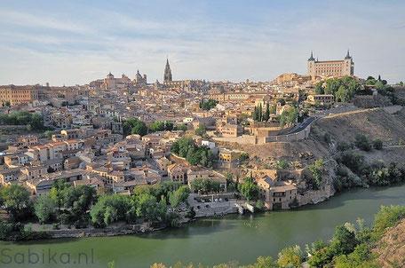Toledo en de rivier de Taag