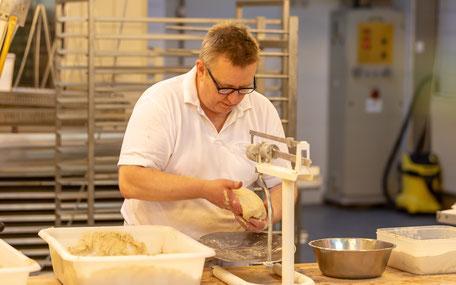 Bäckermeister Mehmann Handwerk Brot