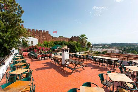 Café Inglês in Silves,Algarve,Portugal geeignet für Feste,Familien,Events sowie Wandergruppen
