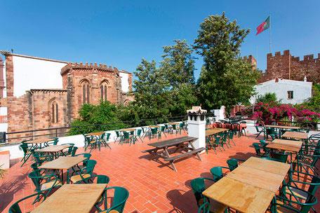 Café Inglês in Silves,Algarve,Portugal geeignet für Familien,Feste,Events und auch Geburststagsfeier