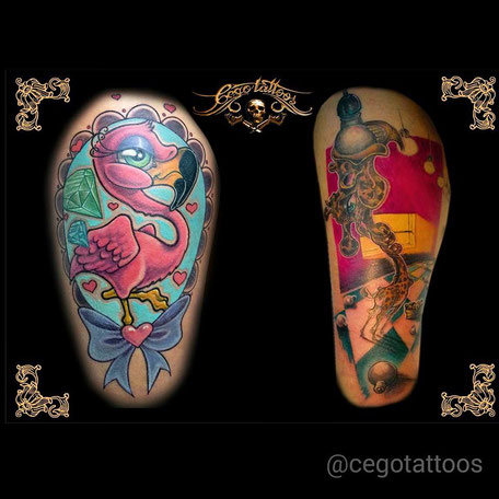 Cego Tattoos Studio in Portimão,Algarve,Portugal perfekt für neue Ideen.