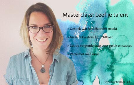 Op de activiteitenagenda van PowerVrouwen: Ondernemen met Power, Dorine Boudewijn van Meer dan stijl