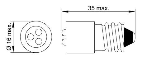Schraubsockel E14