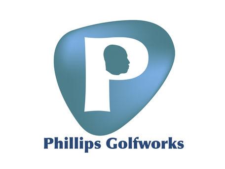Konzeption und Gestaltung eines Logos für Phillips Golfworks von Funkenflug Design Münster.