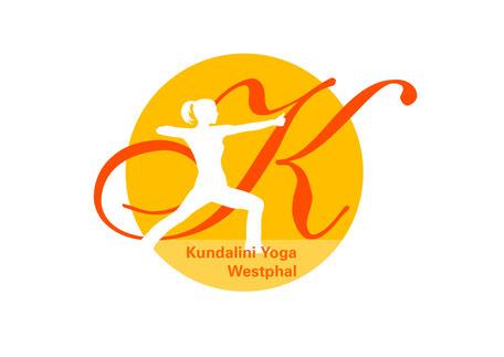 Konzeption und Gestaltung eines Logos für Kundalini Yoga von Funkenflug Design Münster.