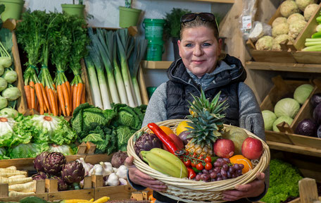 Geschenk- und Vitaminkörbe bei obst & mehr