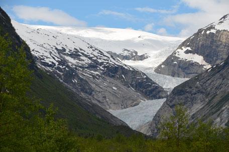 gletsjer noordwegen