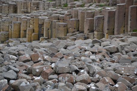 basaltzuilen, giant's causeway, Noord-Ierland, vulkanisch