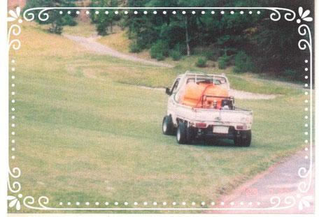 【楽輪】-ラジアル8本八輪型 フェアウエイ走行