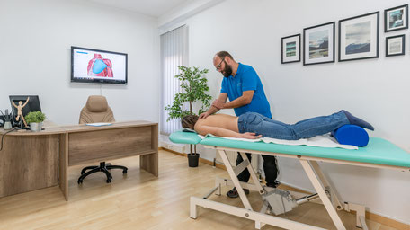 Physiotherapeut, Heilmassage, Peter Vesenmayer, Seefeld in Tirol, Krankengymnastik , Physiotherapie
