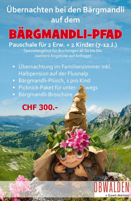 Familienferien, Familienwanderung 2 Tage, Familienerlebnis auf der Alp