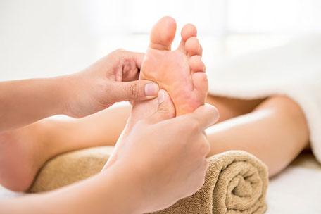 Fussreflexzonen-Massage bei ANAVEI in Meisterschwanden