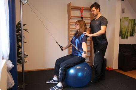 Gesundheitspraxis Schulz Wiesbaden Personaltraining Fitnesstraining gesundheitsorientiertes Training