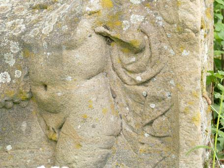 Gräberkunst an der Villa rustica Wachenheim: Gott Amor
