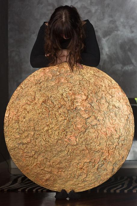 Sassodipaglia - dipinto su legno
