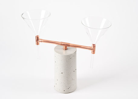 concrete coffee maker for pour over coffee