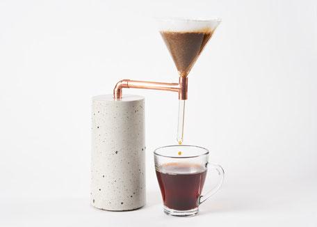 Beton Kaffeezubreiter Coffee Maker Single