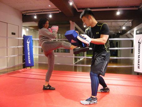 大阪でキックボクシングのパーソナルトレーニング